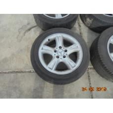 Velgen Mercedes clk W209 A2094011102 2094011102  A2094010102 20940140102 Bandmaat: 205/55R16