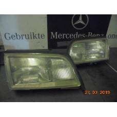 Koplampen Mercedes w202 cklasse links